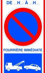 Panneaux de signalisation alvéolaires
