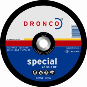 Disque abrasif DRONCO Fonte - Ø 350 mm