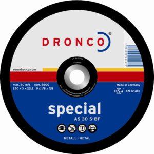 Disque abrasif DRONCO Matériaux - Ø 350 mm