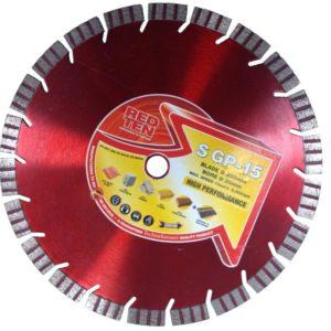 Disque diamants UNIVERSAL SGP-15 - Ø300 mm