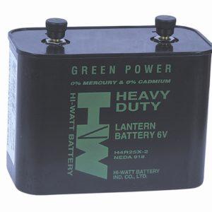 Batterie rectangle 6V