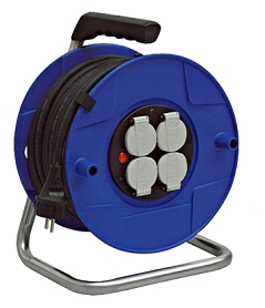 Enrouleur BAT Pro câble 40m fil 1.5 mm² HO5VVF