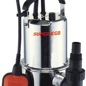 Pompe submersible SUPER EGO Subvort 900A INOX