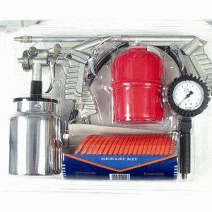 Kit d'accessoires 5 pièces pour compresseur