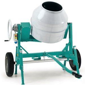 Bétonnière IMER Syntesi S 350 4 tractable thermique HONDA