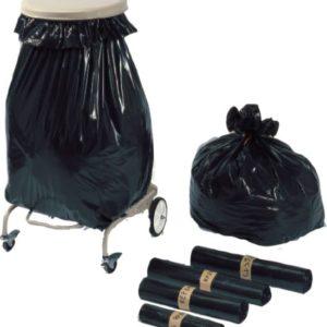 Carton de 200 sacs poubelles type gravats