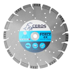 Disque diamants CEROS X4 mixte - Ø350 mm