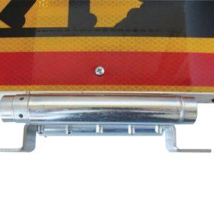 Triangle pour véhicule industriel triflash, LED 500mm, classe B