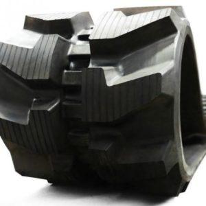 Chenille caoutchouc 400 pour toutes les marques de pelleteuses mini pelles et engins de chantier