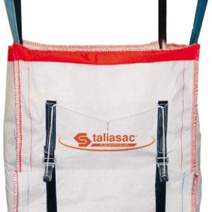 Conteneur Taliasac 1500 kg 900 x 900 x 900 mm ouverture par le fond