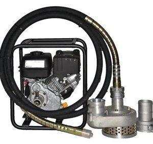 Pompe à eau à câble équipée 75 m3-h - LONCIN Honda