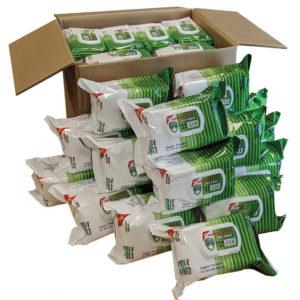 Carton Detox Wet Wipes ANTIBACTERIEL
